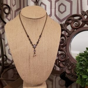 1928 Vintage Style Necklace & Earring Set